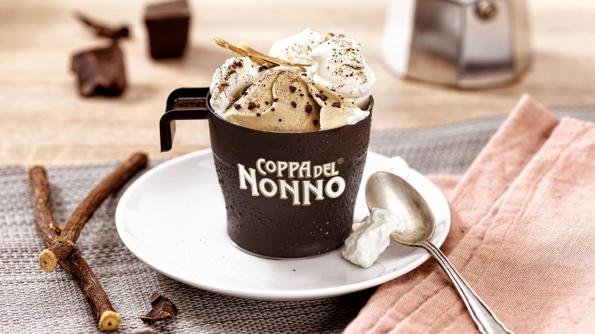 Ricette Coppa del Nonno, Caffè e Liquirizia