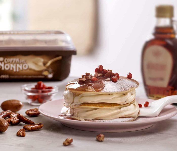 Pancake Acero e Coppa del Nonno